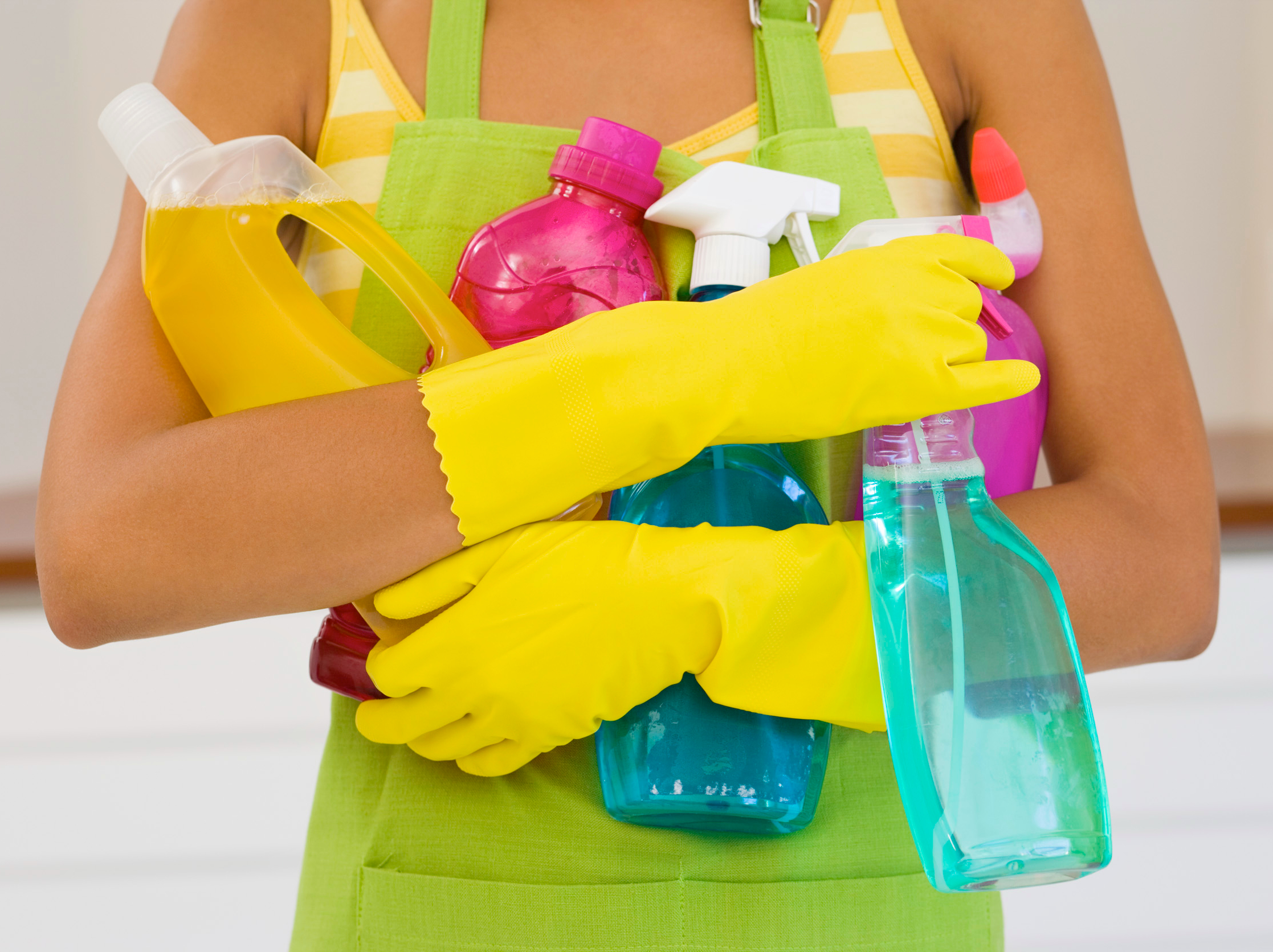 Cleaning your home in a hurry
